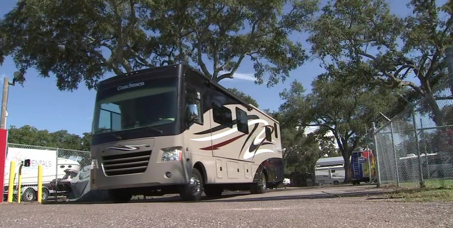 Family turns to RV to stay connected amid coronavirus pandemic