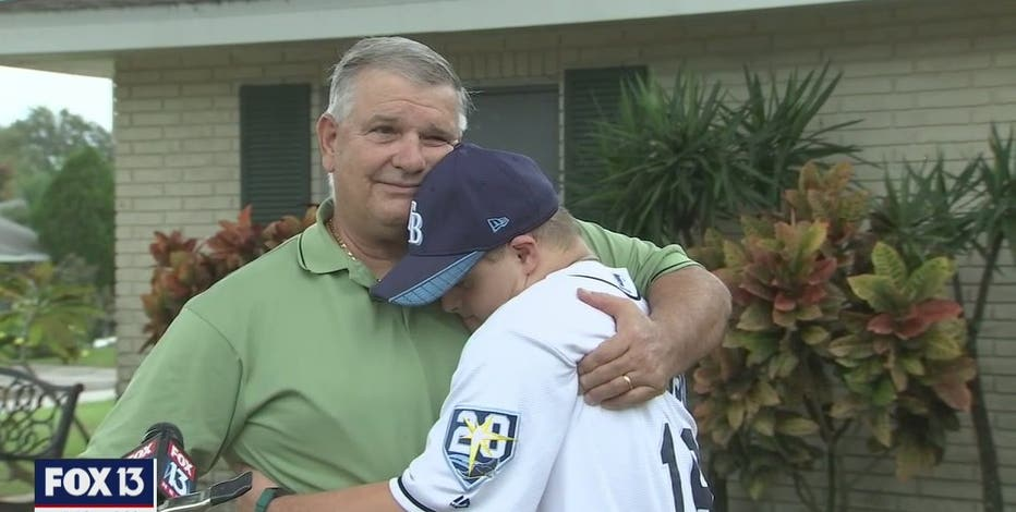 Rays superfan with Down syndrome gets surprise trip to World Series