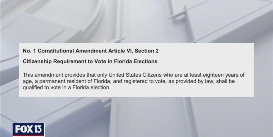 Florida Amendment 1 explained: Voter registration language