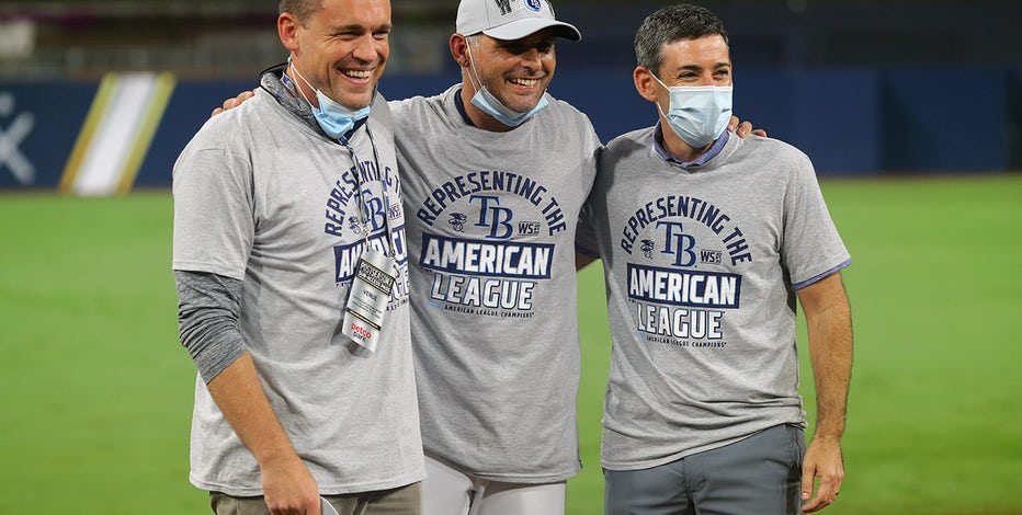 ALCS collapse averted, Rays now prep for Dodgers in World Series
