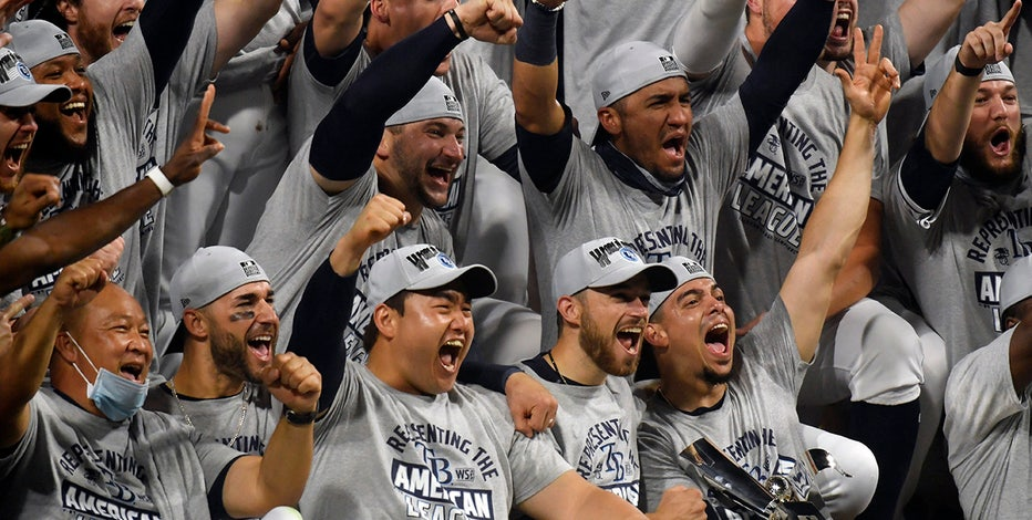 Arozarena, Rays top Astros in Game 7 to reach World Series