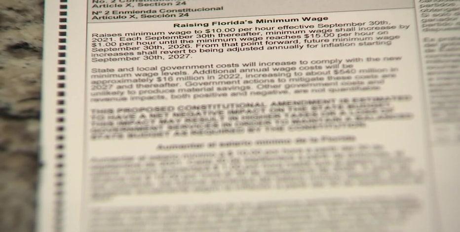 Florida Amendment 2 explained: Minimum wage hike