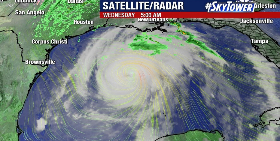 Zeta expected to make landfall in southeast Louisiana Wednesday: NHC