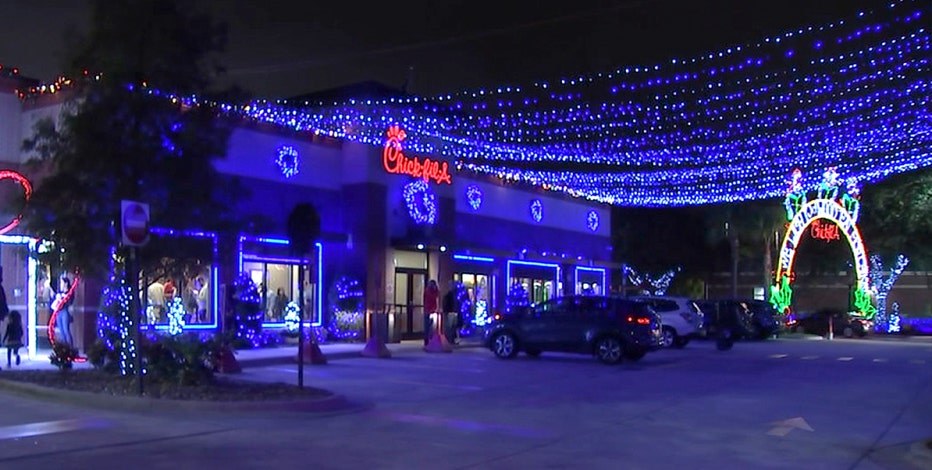 Annual Christmas light display at Tampa Chick-fil-A will be scaled back
