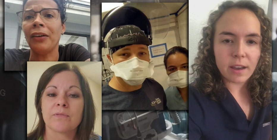 The COVID Chronicles: Tampa General Hospital workers share videos from the front lines