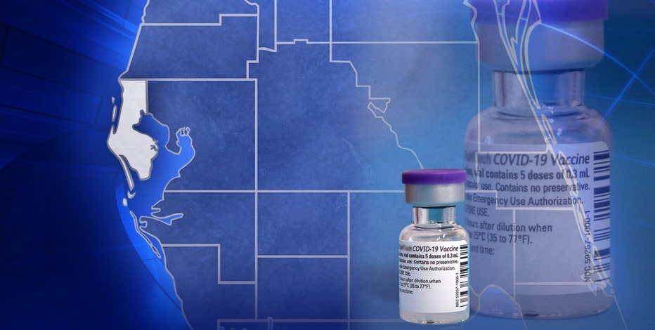 Pinellas County COVID-19 vaccine distribution
