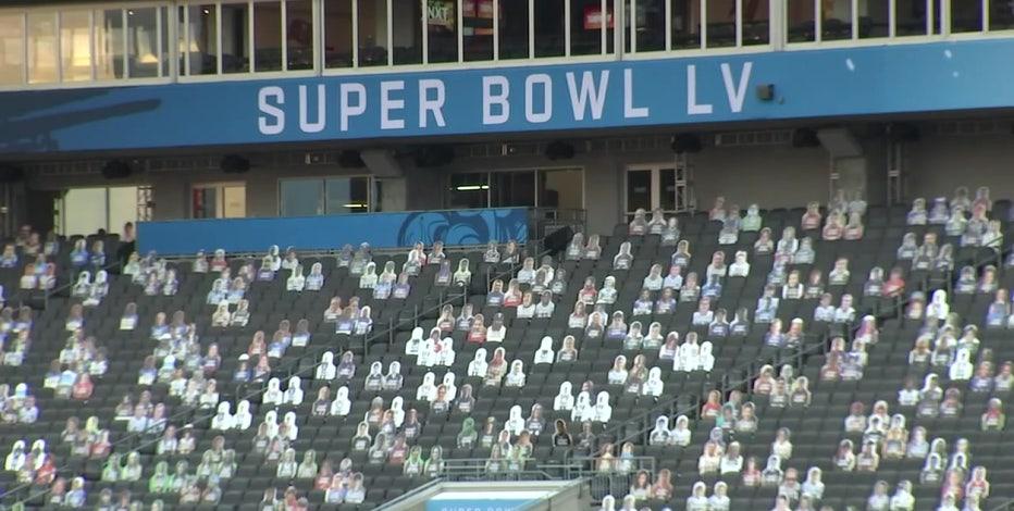 Despite limited attendance, Raymond James Stadium will look crowded Super Bowl Sunday
