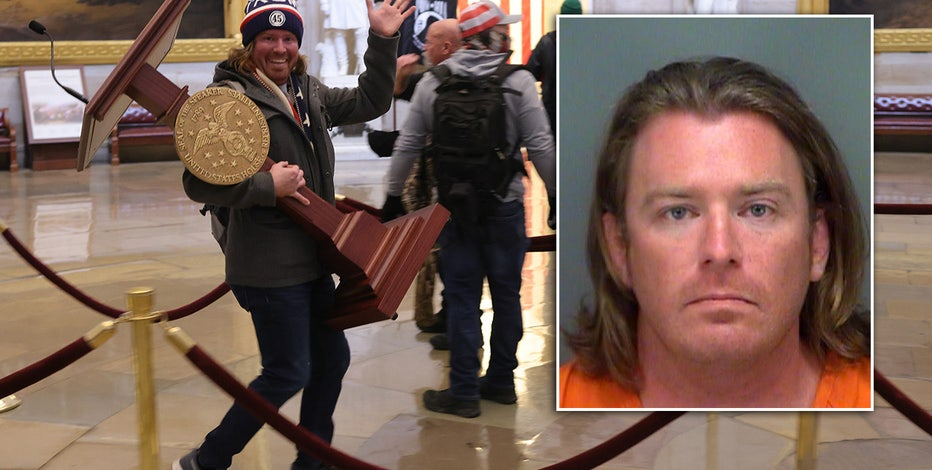 Suspected U.S. Capitol 'lectern guy' arrested on federal charges in Pinellas County