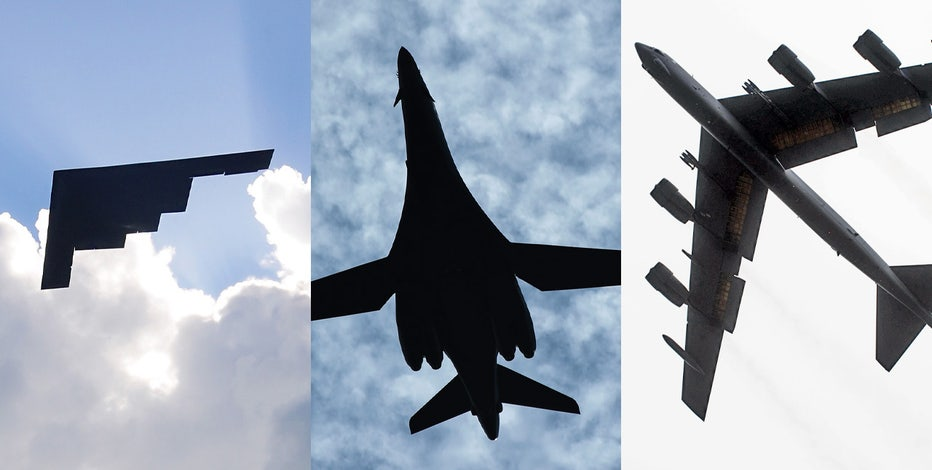 Trifecta of Air Force bombers to provide Super Bowl LV flyover
