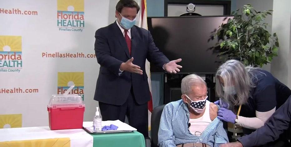 DeSantis walks back claim over 1 million seniors vaccinated