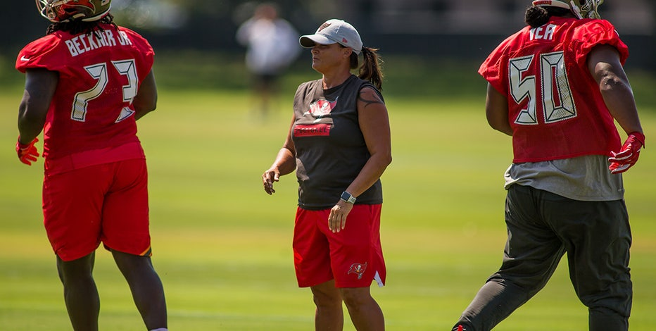 Bucs double up female coaches in Super Bowl with not 1 but 2