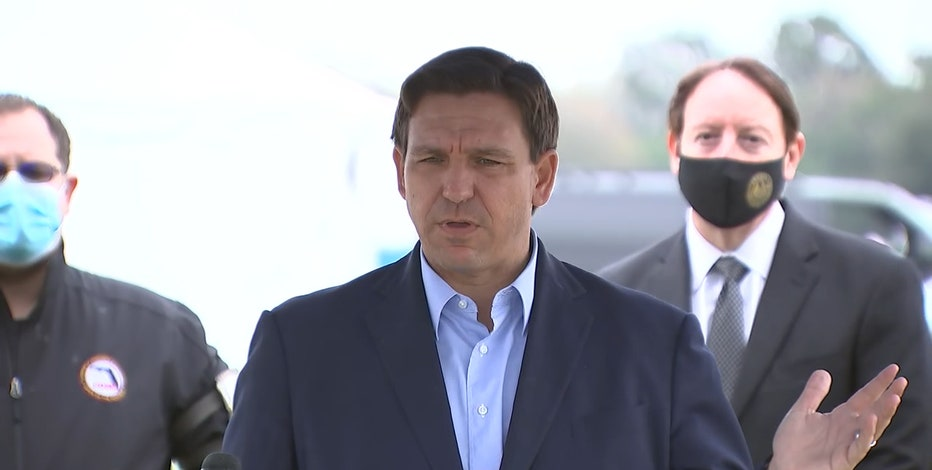 DeSantis on COVID-19 vaccine site controversy: 'I wouldn't be complaining'