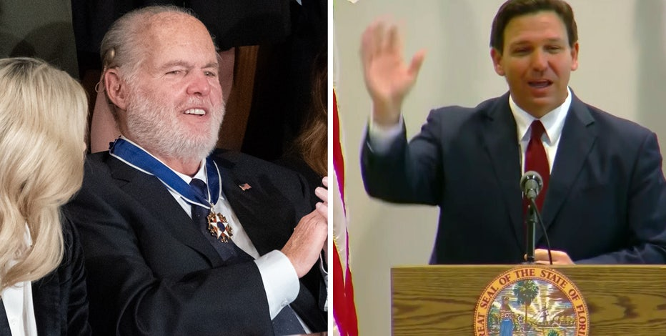 Florida to lower flags for Limbaugh, governor says