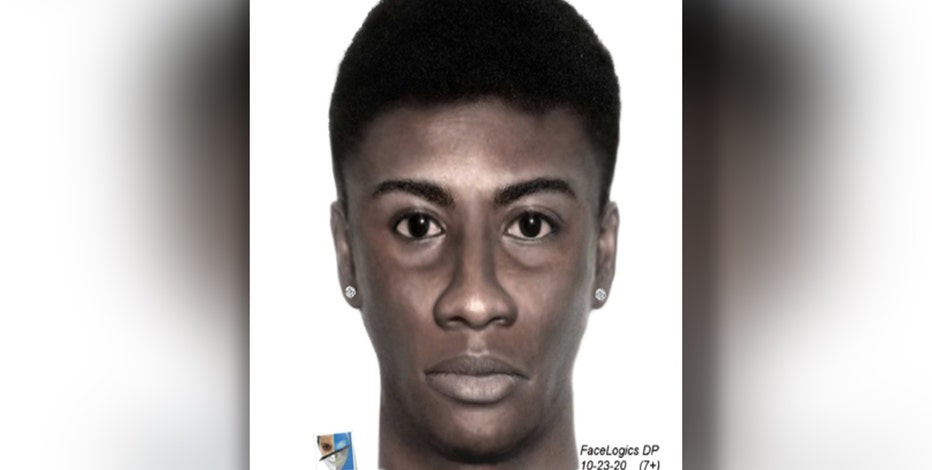 Detectives release sketch of suspect accused of robbing deaf, mute man at gunpoint