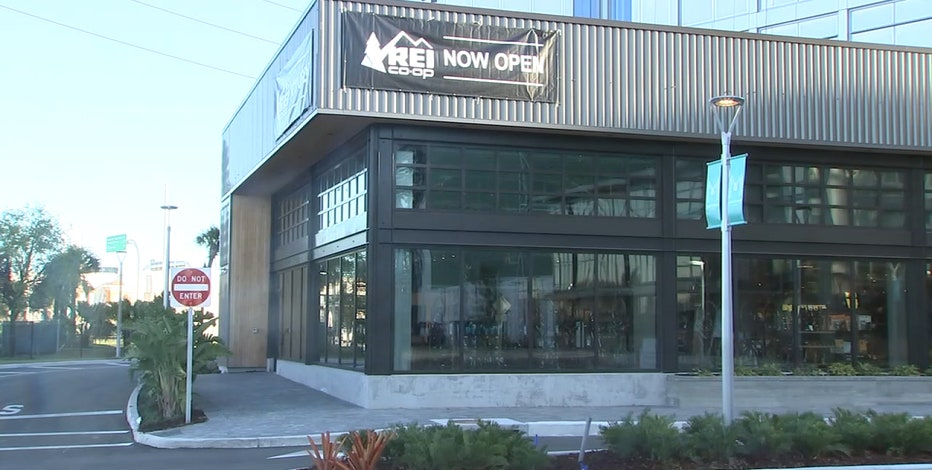 REI, the first store in Midtown Tampa, now open