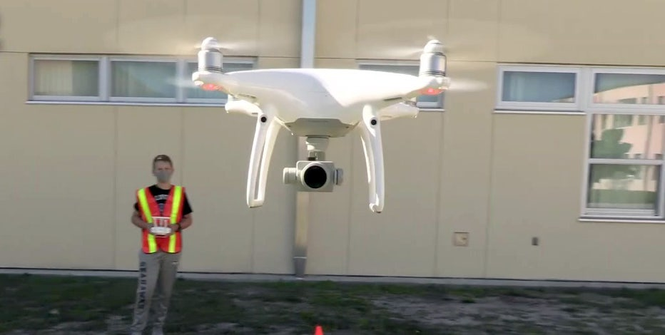 As world's youngest certified drone pilots, St. Pete middle school students ready to soar