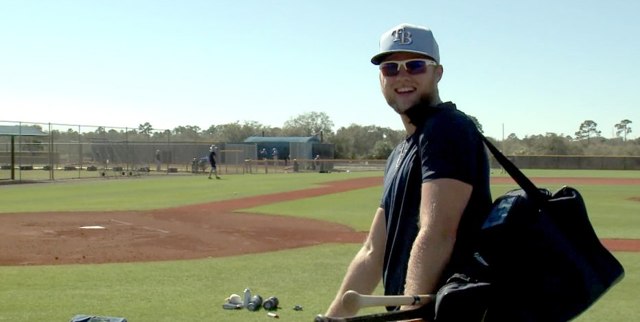 Rays happy to welcome Austin Meadows -- and his swing