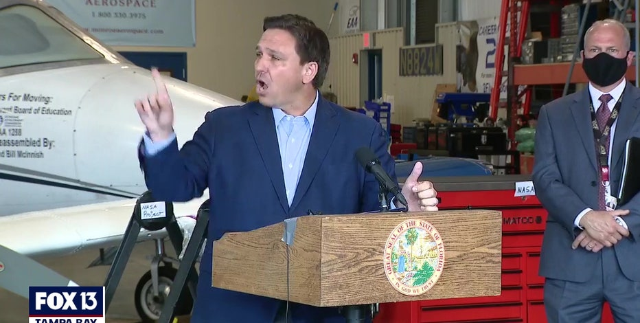 Governor DeSantis blasts '60 Minutes' report about Publix and COVID-19 vaccines