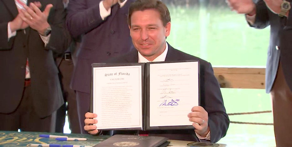 Gov. DeSantis signs bill banning vaccine passports; suspends COVID-19 local emergency orders