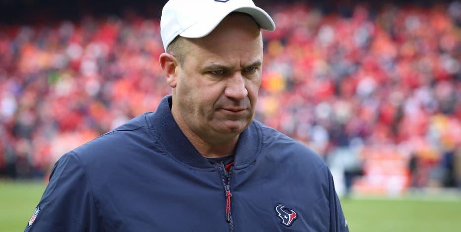 Houston Texans fire Bill O'Brien, Romeo Crennel announced as interim head coach