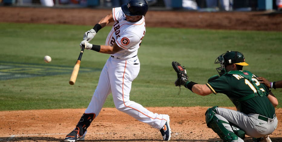 Houston Astros defeat A's in ALDS, will face Yankees or Rays in ALCS