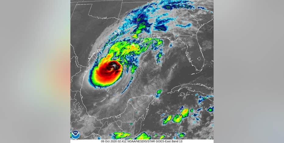 Hurricane Delta makes landfall in Louisiana, winds at 100 mph