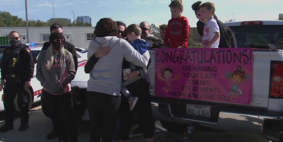 Harris Co. constable deputy surprised with cancer-free party