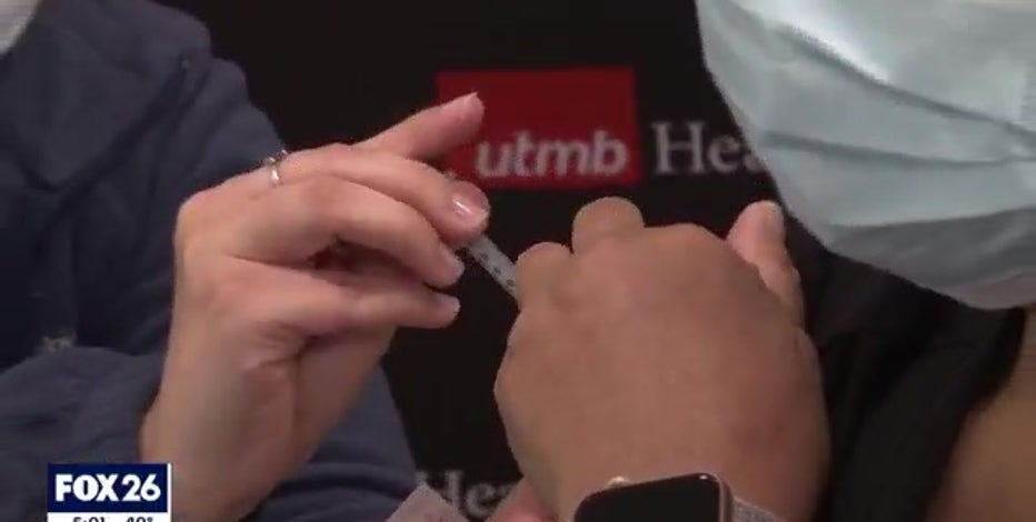 First COVID-19 vaccines administered in Houston, Galveston