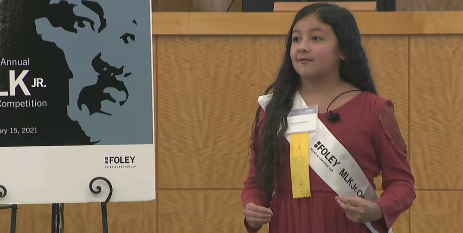Inspired by civil rights great MLK, Houston students give heartfelt speeches against hate