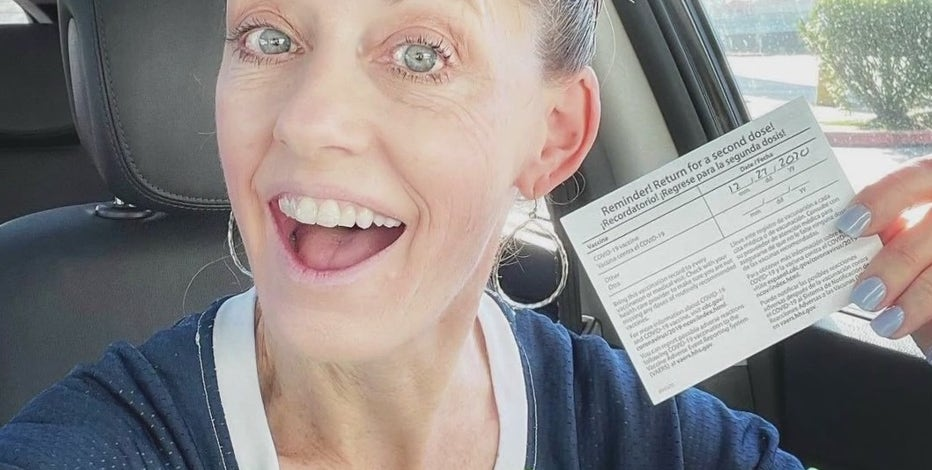 School nurse in Humble relieved to get COVID-19 vaccine