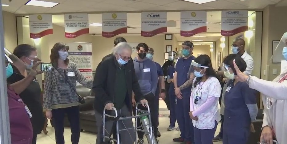 Houston-area man out of the hospital after battling COVID-19 for 8 months