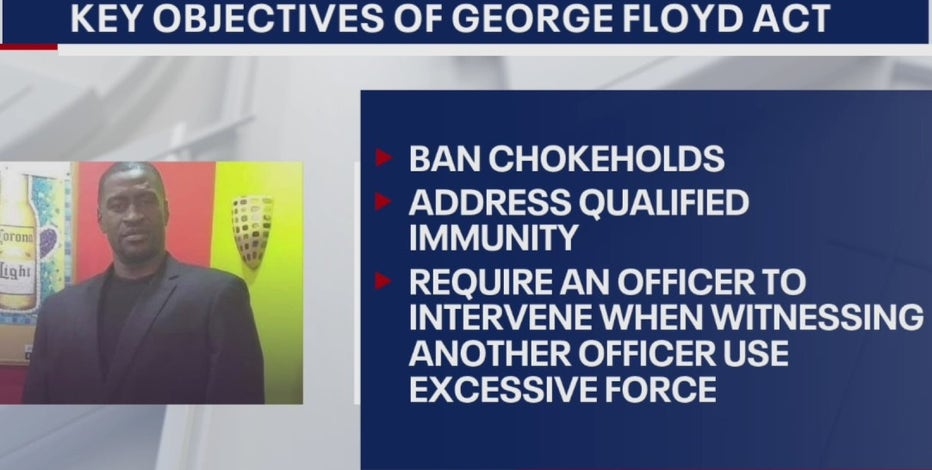 Texas law enforcement associations oppose George Floyd Act