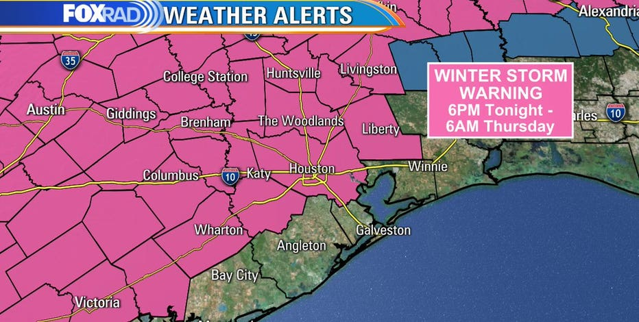 Another winter storm to impact southeast Texas: What you need to know
