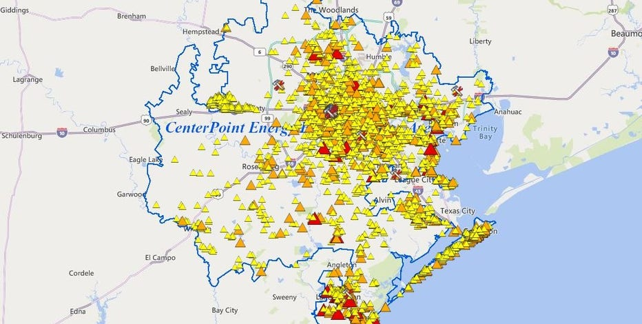 More than 440K customers now without power due to Nicholas