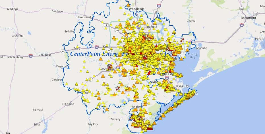 More than 400K customers now without power due to Nicholas