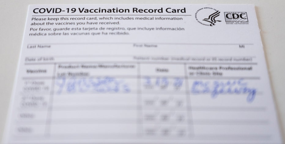 What to do if you've lost your COVID-19 vaccine card