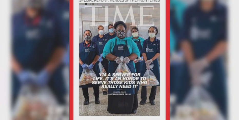 Dallas ISD cafeteria workers featured on the cover of Time