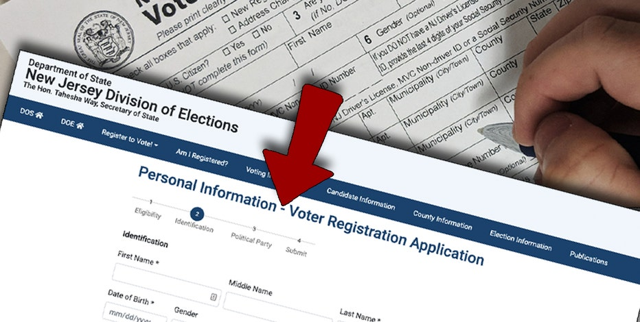 How to register online to vote in New Jersey