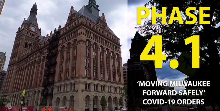 Health Dept. issues Phase 4.1 of 'Moving Milwaukee Forward Safely' COVID-19 orders