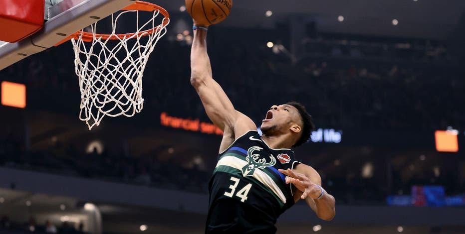 Giannis Antetokounmpo unanimously named 2019-20 All-NBA 1st Team