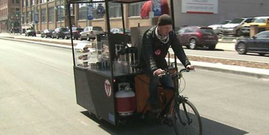 Check out Milwaukee's first pedal-powered cafe!