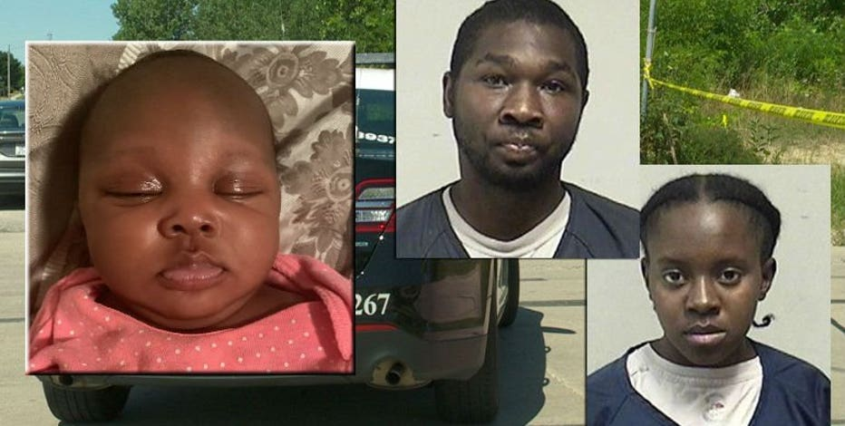Parents sentenced in infant's disappearance, presumed death