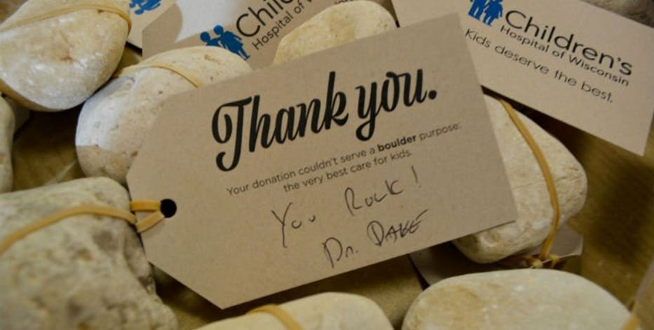 """""""Going to need more rocks!"""" Nordstrom pledges $50K match after Children's Hospital doctor's fundraiser goes viral"""