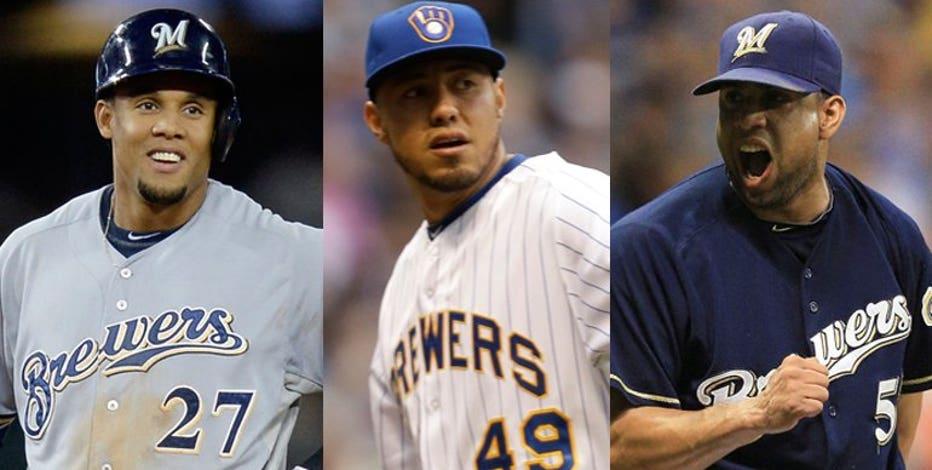 Brewers Wall of Honor: Gallardo, Gomez, Rodriguez inducted