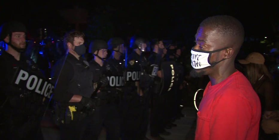 Wauwatosa adjusts city protest guidelines after back-to-back nights of demonstrations
