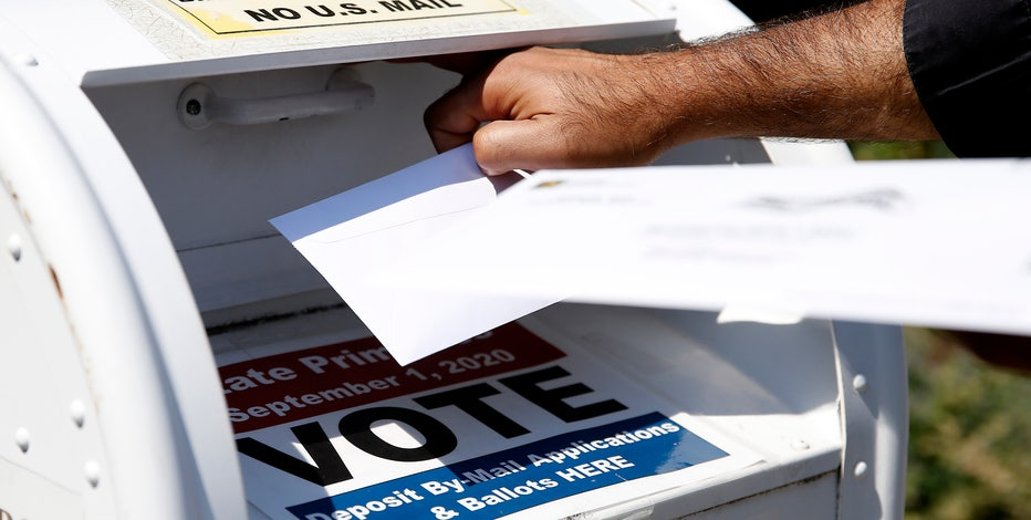Can a voter fix a problem on a mail-in ballot?