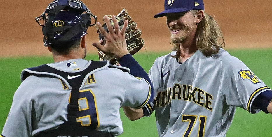 Brewers reinstate Hader from COVID reserve list