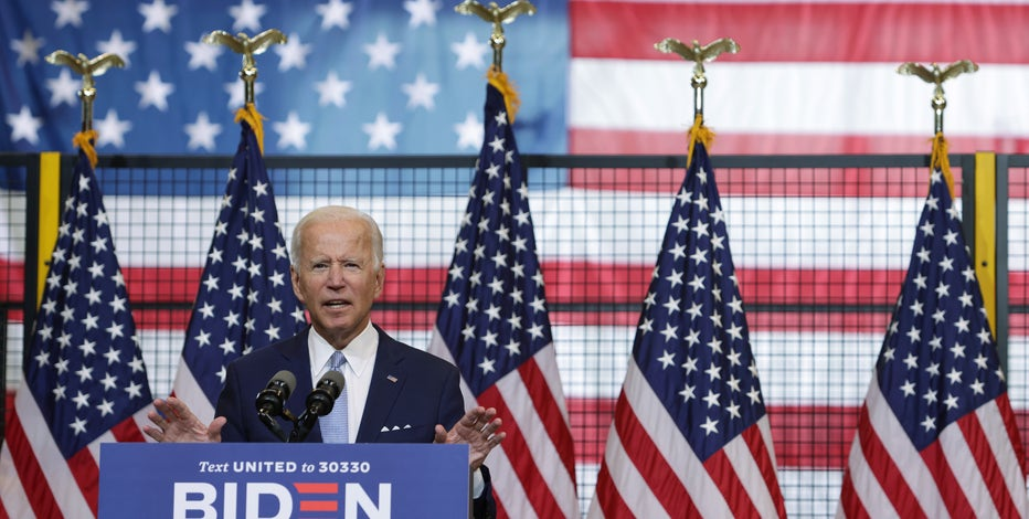 Joe Biden says he wants to add $300 million to local police budgets