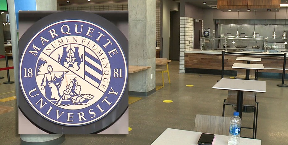 Marquette reports record COVID-19 cases among students