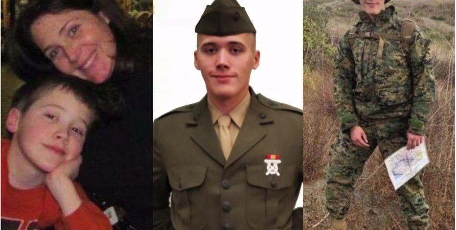 'My hero:' Mother of Oak Creek Marine killed in training accident says he died doing what he loved